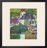 Kirche in Unterach Am Attersee, Church in Unterach on Attersee Framed Giclee Print by Gustav Klimt