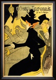 Divan Japonais Art by Henri de Toulouse-Lautrec