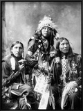 Young Sioux Men, 1899 Prints