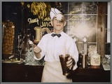 Soda Jerk, 1939 Art by Russell Lee