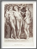 Three Graces Prints by Peter Paul Rubens