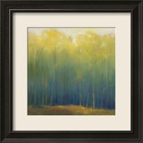 Deep Woods in Summer Print by Teri Jonas