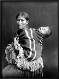 Navajo Woman & Child, C1914 Art