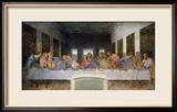The Last Supper, 1495-97 Gerahmter Giclée-Druck von  Leonardo da Vinci