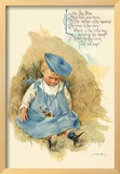 Little Boy Blue Framed Giclee Print by Maud Humphrey