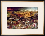 The Triumph of Death, circa 1562 Framed Giclee Print by Pieter Bruegel the Elder