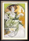 Noel 1903 Poster van Alphonse Mucha