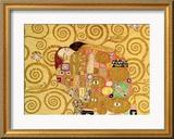 Erfüllung Gerahmter Giclée-Druck von Gustav Klimt