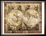 Alte Welt Gerahmter Giclée-Druck von Edwin Douglas