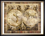 Old World Framed Giclee Print by Edwin Douglas