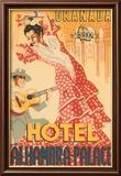 Hotel Alhambra - Palace Kunstdruck