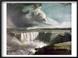 Morse: Niagara Falls, 1835 Prints by Samuel Finley Breese Morse