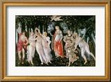 Primavera, circa 1478 Gerahmter Giclée-Druck von Sandro Botticelli