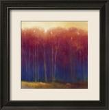 Deep Woods in Autumn Kunst von Teri Jonas