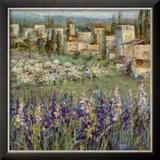Dorf in der Provence I Kunstdrucke von Michael Longo