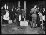 Ellis Island: Examination Prints