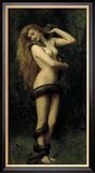 Lilith Gerahmter Gicl&#233;e-Druck von John Collier