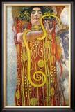 Hygeia Print by Gustav Klimt