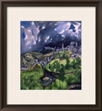 View of Toledo, circa 1597-99 Framed Giclee Print by El Greco