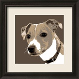 Jack Russell Kunst von Emily Burrowes