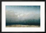 Der Mönch am Meer, 1903 Gerahmter Giclée-Druck von Caspar David Friedrich