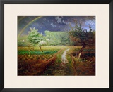 Spring at Barbizon, 1868-73 Framed Giclee Print by Jean-François Millet