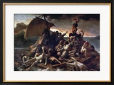 The Raft of the Medusa, 1819 Estampe encadrée par Théodore Géricault