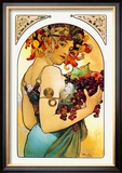 Fruit Posters by Alphonse Mucha