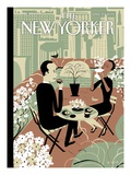 The Joys of the Outdoors - The New Yorker Cover, April 23, 2012 Regular Giclee Print von Frank Viva
