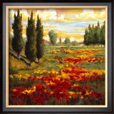 Tuscany in Bloom I Art by J.m. Steele