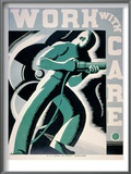 New Deal: Wpa Poster Posters by Robert Muchley