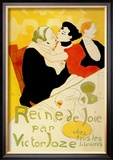 Reine de Joie Prints by Henri de Toulouse-Lautrec