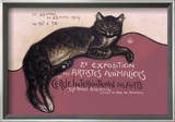Exposition des Artistes Animaliers Prints by Th&#233;ophile Alexandre Steinlen