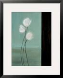 Aqua Breeze II Framed Giclee Print by Karen Lorena Parker