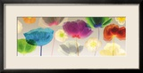 Poppy Panorama Framed Giclee Print by Robert Mertens
