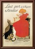 Lait Pur de la Vingeanne Sterilise Poster von Théophile Alexandre Steinlen
