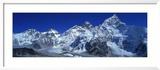 Himalaya Mountains, Nepal Gerahmter Fotografie-Druck von  Panoramic Images