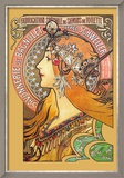 Savonnerie de Bagnolet Prints by Alphonse Mucha