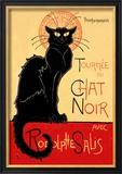 Tournee du Chat Noir Avec Rodolptte Salis Print by Théophile Alexandre Steinlen