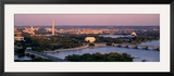 Aerial, Washington DC, District of Columbia, USA Framed Photographic Print by Panoramic Images 