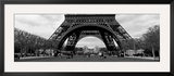 Black and White, Eiffel Tower, Paris, France Framed Photographic Print by  Panoramic Images