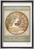Laurel Prints by Alphonse Mucha