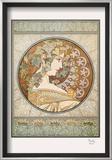 Laurel Prints by Alphonse Mucha