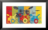 Heart Beat Framed Giclee Print by M.J. Lew