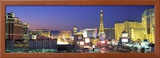 Dusk, the Strip, Las Vegas, Nevada, USA Framed Photographic Print by  Panoramic Images