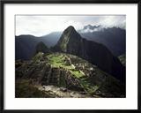 Inca Site, Machu Picchu, Unesco World Heritage Site, Peru, South America Gerahmter Fotografie-Druck von Rob Cousins
