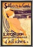 Salon des Cent: Exposition Internationale d'Affiches Print by Henri de Toulouse-Lautrec