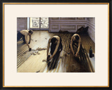 The Parquet Planers, 1875 Framed Giclee Print by Gustave Caillebotte