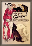 Clinique Cheron, Veterinary Medicine and Hotel Prints by Th&#233;ophile Alexandre Steinlen