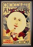 Chocolate Amatller: Barcelona Prints